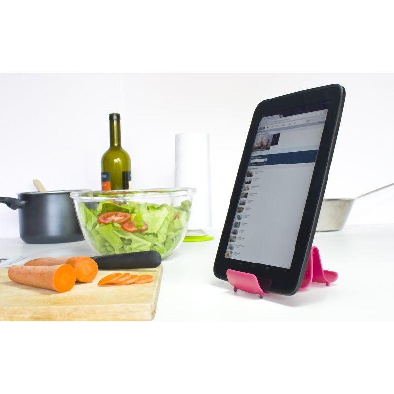 Soporte de cocina universal verde for Soporte utensilios cocina